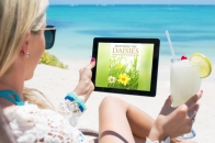 All author beach kindle